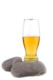 Golden beer Stock Photos