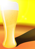 Golden beer Royalty Free Stock Photo