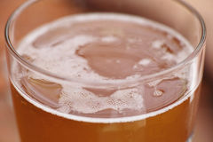 Golden beer Stock Photography
