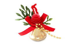 Golden bell Royalty Free Stock Images