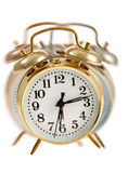 Golden Bell Alarm Clock Royalty Free Stock Photography