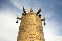 Golden Bell Of Buddhism Royalty Free Stock Image