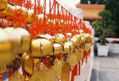 Golden bell Taiwan. By film camera Royalty Free Stock Photography