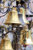Golden bells Stock Photography