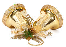 Golden bells Royalty Free Stock Photo