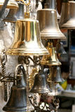 Golden bells. Big Choise of the bells Royalty Free Stock Photography