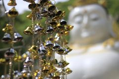 Golden bells lucky and beautiful. Golden bells lucky and beautiful Royalty Free Stock Photography