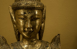 Golden bhudda Royalty Free Stock Image