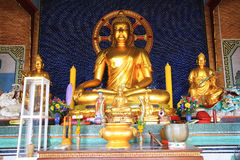 Golden big Buddha statue Stock Photo