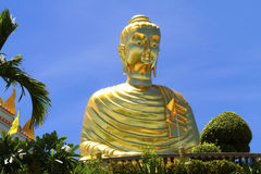 Golden Big Buddha Stock Photos