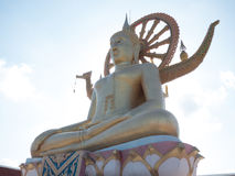 Golden Big Buddha Thailand Ko Samui Stock Photo