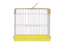 Golden bird cage stock image