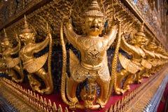 Golden bird of myth Royalty Free Stock Image
