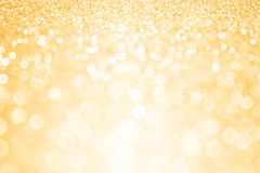 Gold Glitter Confetti Party Background Stock Photos