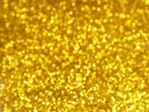 Golden blur bokeh background Royalty Free Stock Image