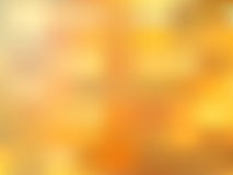 Golden blurred abstract bright background Stock Images