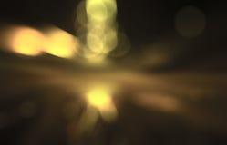 Golden blurred background Stock Photo