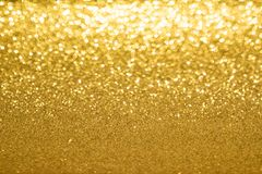 Golden blurred background royalty free stock photography
