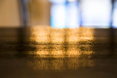 Golden blurred background. royalty free stock photography