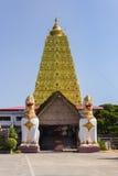 Golden Bodh Gaya Royalty Free Stock Photo