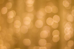 Golden Bokeh, abstract background royalty free stock image