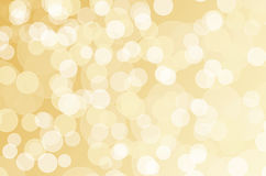 Golden bokeh Royalty Free Stock Photos