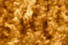 Golden bokeh background Stock Photos