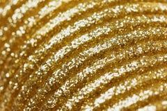 Golden bokeh background Stock Image