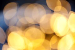 Bokeh holiday background. Golden bokeh holiday background Royalty Free Stock Image
