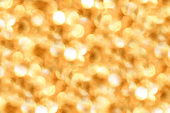 Golden Bokeh Lighting Stock Images