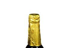 Golden bottle top Stock Image