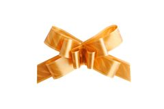 Golden bow Stock Photos
