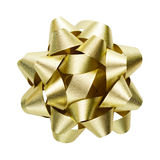 Golden bow Royalty Free Stock Images