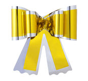 golden bow Stock Images