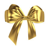 Golden bow Stock Image