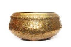 Golden bowl Stock Photo