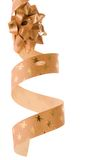 Golden bows Stock Images