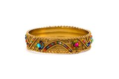 Golden bracelet Royalty Free Stock Photography