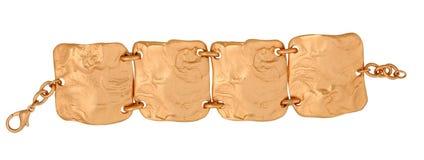 Golden bracelet Royalty Free Stock Photos