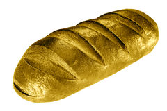 Golden bread Stock Photo