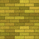 Golden bricks Stock Photography