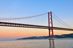 Golden bridge Royalty Free Stock Photo