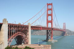 Golden Bridge in San Francisco Stock Images