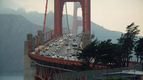 Golden Bridge San Francisco stock footage