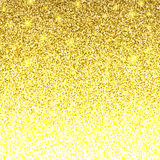 Golden Bright Glowing Gradient Background. Jewelry Gold Background Concept. Royalty Free Stock Photos