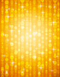 Golden brightnes illustration suitable for christm Stock Photos