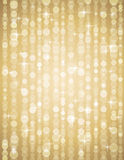 Golden brightnes illustration suitable for christm Stock Images
