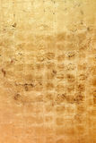 Golden bronze colored grunge texture or background Stock Image