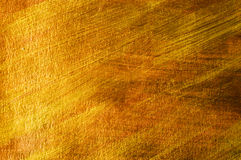 Golden and bronze paint background Royalty Free Stock Image