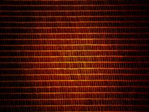 Golden brown bit background. Background containing a pattern of rectangle elements in golden brown tonality Stock Image